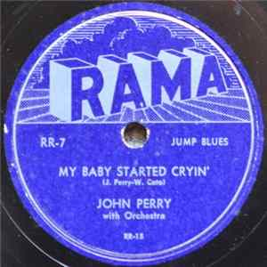 Johnny Perry With Orchestra - My Baby Started Cryin' / Love Crazy Album